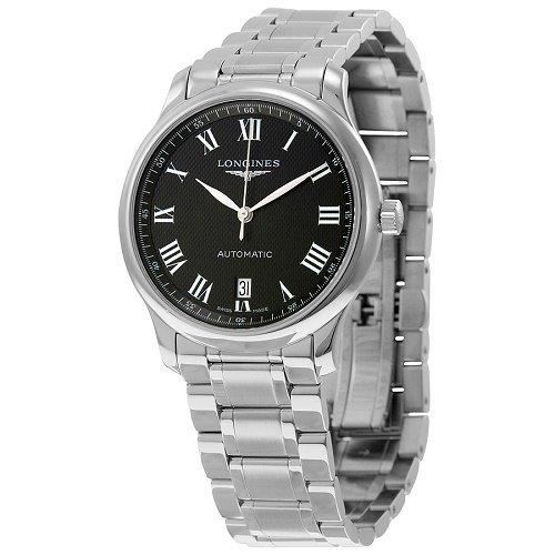 【Longines/ロンジン】 自動巻き腕時計 Master Collection ブラックダイアル シルバー メンズ ウォッチ LNG262845…