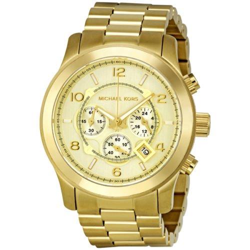 【Michael Kors/マイケルコース】 腕時計 クロノグラフ ファッションウォッチ MK8077