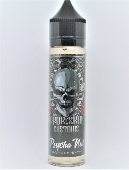 VaporSkull E-juice PSYCHO NUT  65ml  0mg