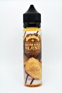 choco banana split  HOMERS BLEND 60ml