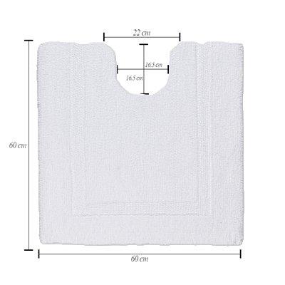 【アウトレット / 旧デザイン】REVERSIBLE トイレマット カラー:100 / 30%OFF画像