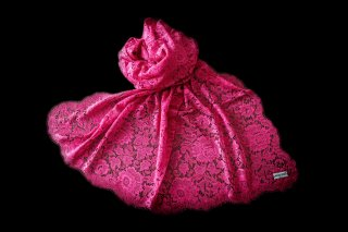 Camellia Rose Shawl