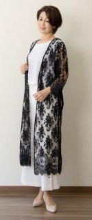 Leaver lace Gown Coat (Boudoir)