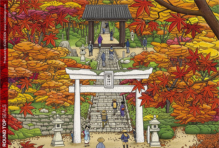 SHRINE IN AUTUMN ポストカード