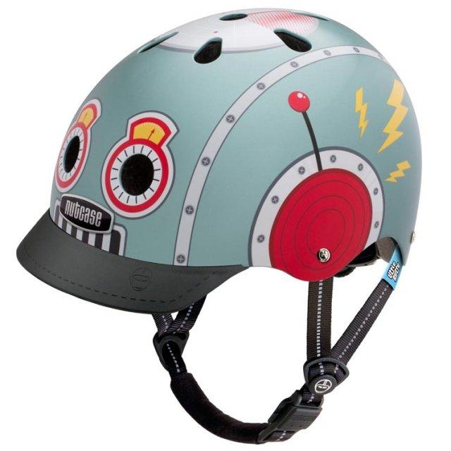 Nutcase(ナットケース) Little Nutty / Tin Robot 子供用ヘルメット / XSサイズ:48cm52cm