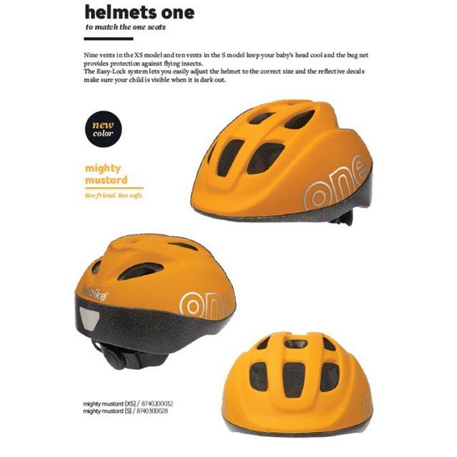 bobike  ONE  Helmets    XSサイズ Mighty Mustard no.3