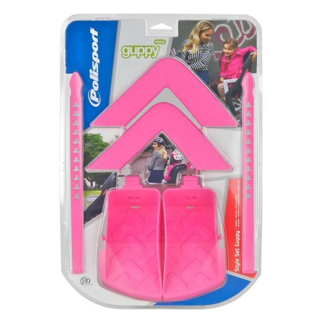 Polisport Guppy MAXI専用 スタイリングセット ピンク