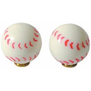 バルブキャップ 野球 1個