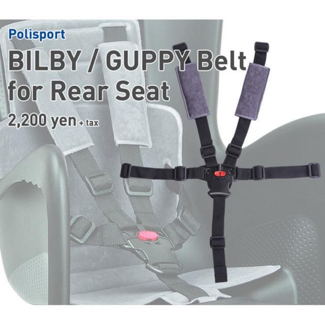 Polisport グッピー 補修用ベルト グレー  no.2