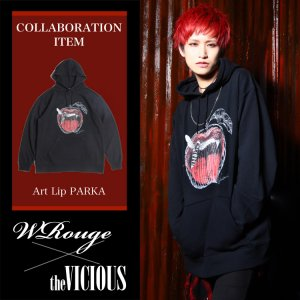 <img class='new_mark_img1' src='https://img.shop-pro.jp/img/new/icons47.gif' style='border:none;display:inline;margin:0px;padding:0px;width:auto;' />''WRouge×the VICIOUS'' COLLABORATION PARKA
