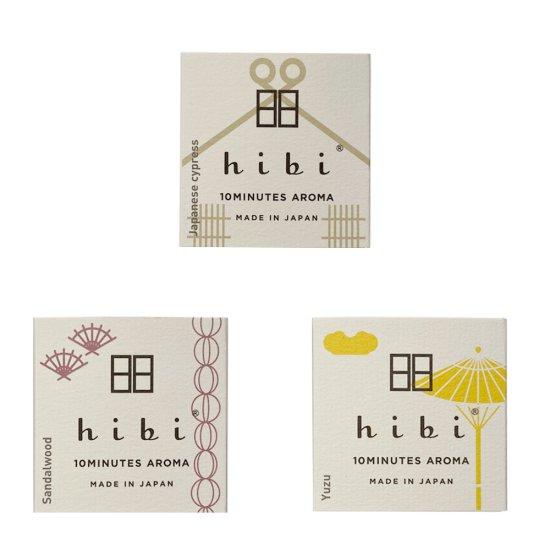 神戸マッチ hibi 10MINUTES AROMA 和の香り レギュラーボックス