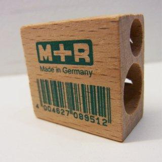 M+R 木製2穴シャープナー