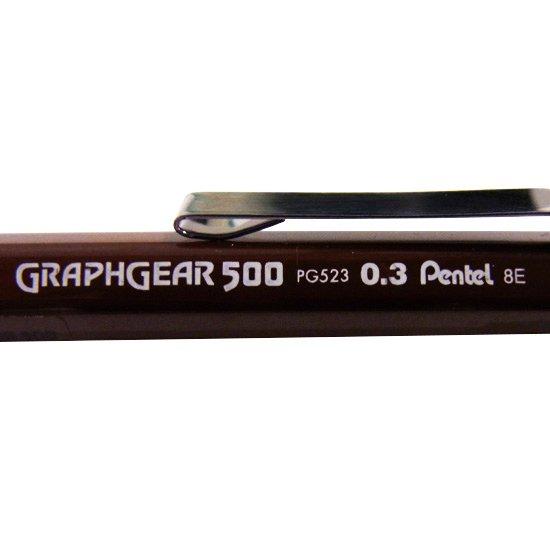 ぺんてる グラフギア500 逆輸入品ver. 0.3mm