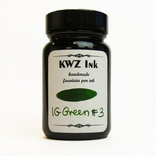 KWZ Ink(カウゼットインク) IGインク IGグリーン#3