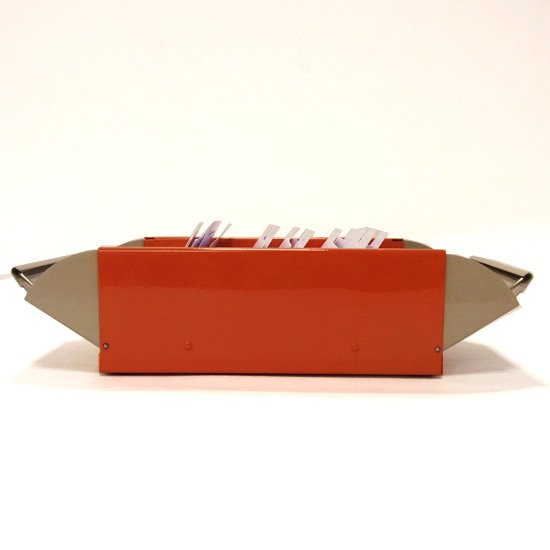 カール カードファイルケース オレンジ