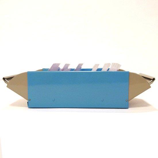 カール カードファイルケース ライトブルー