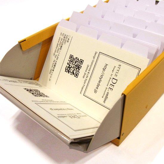 カール カードファイルケース イエロー