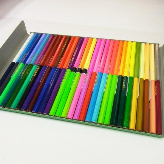 コーリン鉛筆 787六角色鉛筆 30本60色