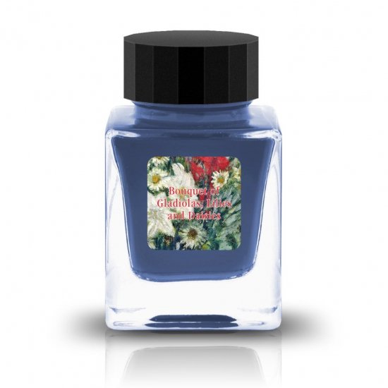 Tono&Lims Crystal Line Respect Collection Bouquet of Gadiolas, Lilies and Dasies