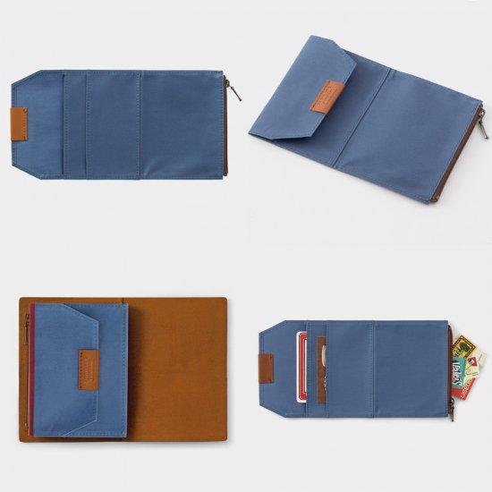 ミドリ トラベラーズノート B-Sides&Rarities コットンジッパーケース パスポート