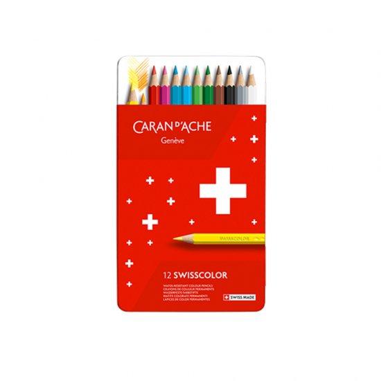 CARAND'ACHE(カランダッシュ) スイスカラー 油性色鉛筆