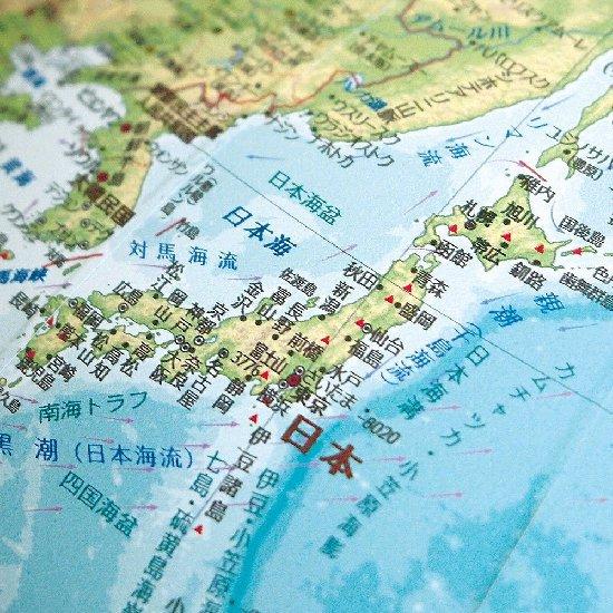 渡辺教具 衛星地形地球儀 WP木台