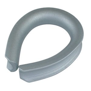 A形シンブル ドブメッキ 適用ロープ径20mm