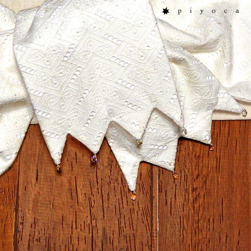 レースとビーズの半巾帯2