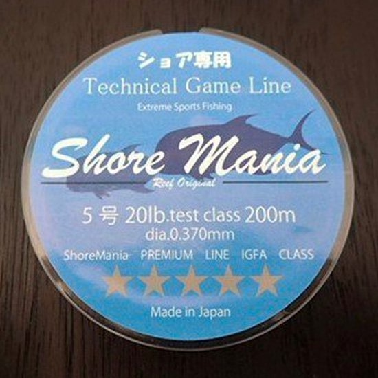 Reeforiginal ShoreMania ショア専用 Technical Game Line 20lb/5号 200m