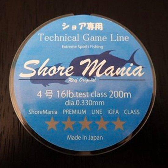Reeforiginal ShoreMania ショア専用 Technical Game Line 16lb/4号 200m