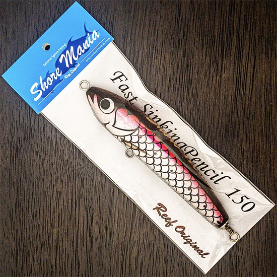 Fast Sinking Pencil 130 ピンク