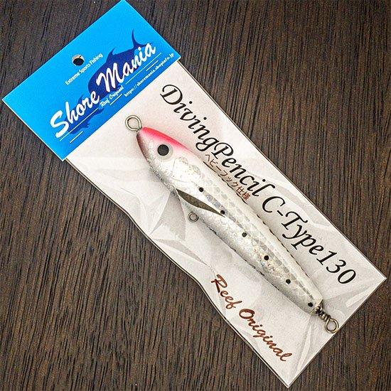 Diving Pencil C-Type130 ホワイトピンクヘッド ヘビーフック仕様