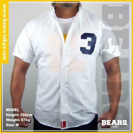 ■ BEARS TOKYO シャツ 3(スリー)ホワイト