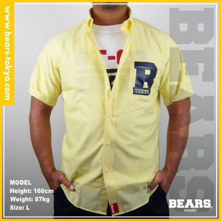 ■ BEARS TOKYO シャツ B(ビー)イエロー