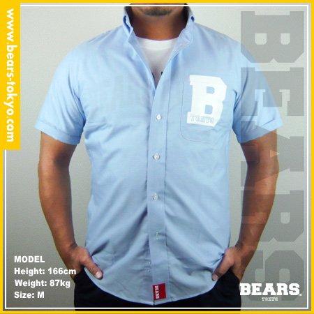 ■ BEARS TOKYO シャツ B(ビー)ブルー