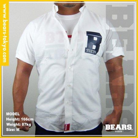 ■ BEARS TOKYO シャツ B(ビー)ホワイト