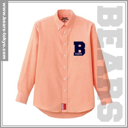 ■ BEARS TOKYO 長袖シャツ B (ビー)オレンジ