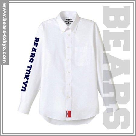 ■ BEARS TOKYO 長袖シャツ BEARS TOKYO SLEEVE (ベアーズトウキョウスリーブ) ホワイト