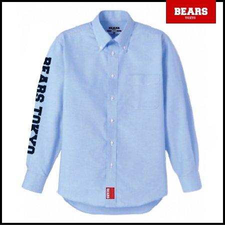 ■ BEARS TOKYO 長袖シャツ BEARS TOKYO SLEEVE (ベアーズトウキョウスリーブ) ブルー