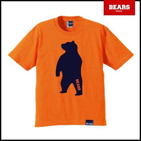 ■ BEARS TOKYO Tシャツ ANIMAL BIG BEAR TEE (ビッグベアーT) オレンジ