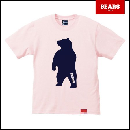 <img class='new_mark_img1' src='//img.shop-pro.jp/img/new/icons13.gif' style='border:none;display:inline;margin:0px;padding:0px;width:auto;' />■ BEARS TOKYO Tシャツ ANIMAL BIG BEAR TEE (ビッグベアーT) ライトピンク