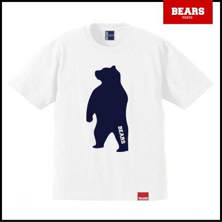 ■ BEARS TOKYO Tシャツ ANIMAL BIG BEAR TEE (ビッグベアーT) ホワイト