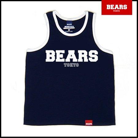 ■ BEARS TOKYO タンクトップ BEARS LOGO (ベアーズロゴ) ネイビー