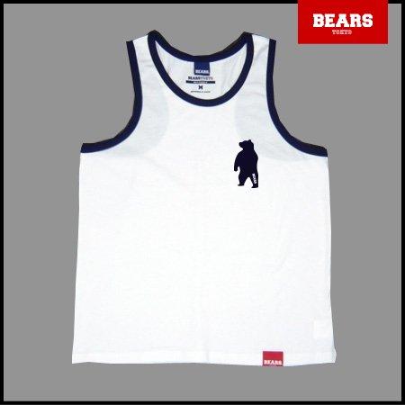 ■ BEARS TOKYO タンクトップ ANIMAL BEAR TANK TOP (ベアータンクトップ) ホワイト