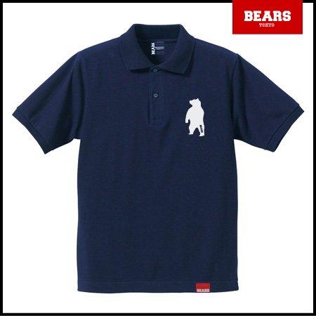 ■ BEARS TOKYO ポロシャツ ANIMAL BEAR POLO 2 (ベアーポロ2) ネイビー