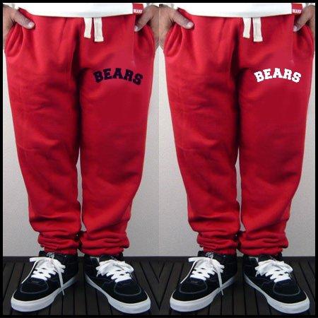 ■ BEARS TOKYO スウェットパンツ BEARS ARCH(ベアーズアーチ)レッド