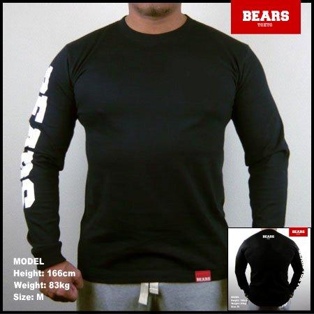 ■ BEARS TOKYO ロングスリーブTシャツ BEARS SLEEVE (ベアーズスリーブ) ブラック