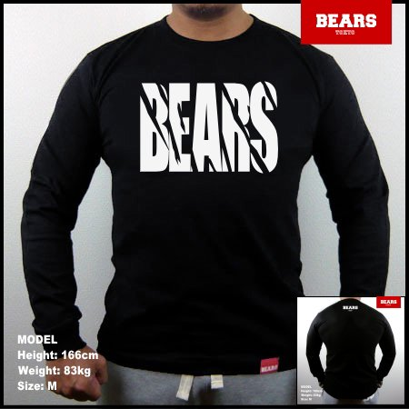 <img class='new_mark_img1' src='//img.shop-pro.jp/img/new/icons13.gif' style='border:none;display:inline;margin:0px;padding:0px;width:auto;' />■ BEARS TOKYO ロングスリーブTシャツ TOUGH (タフ)ブラック
