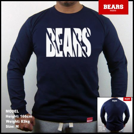 <img class='new_mark_img1' src='//img.shop-pro.jp/img/new/icons13.gif' style='border:none;display:inline;margin:0px;padding:0px;width:auto;' />■ BEARS TOKYO ロングスリーブTシャツ TOUGH (タフ)ネイビー