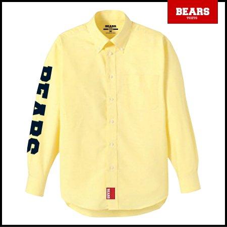 ■ BEARS TOKYO 長袖シャツ BEARS SLEEVE(ベアーズスリーブ) イエロー